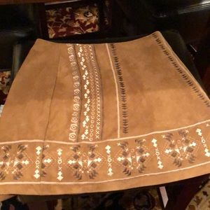 Brown Abercrombie and Fitch skirt